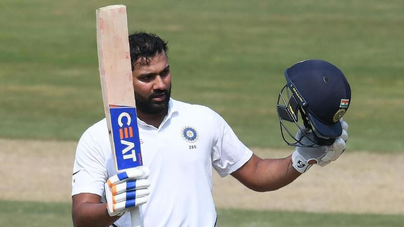 Rohit Sharma marked his first Test as an opener in style by scoring two hundreds.