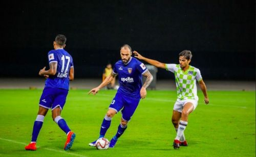 Centre-Back Eli Sabia is the only foreigner from last season to remain at Chennaiyin FC