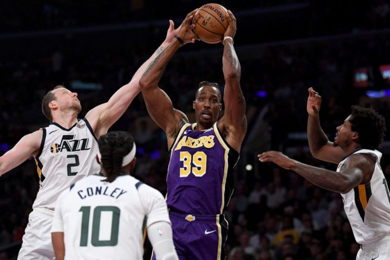 Howard has provided rebounding and paint presence in his second stint in LA.