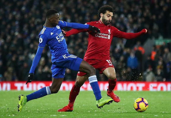 Liverpool will entertain a Leicester City squad in top form.