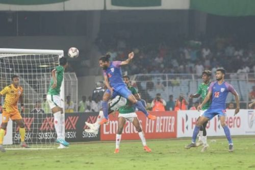 Adil Khan levelled the scores in Kolkata in the 89th minute.