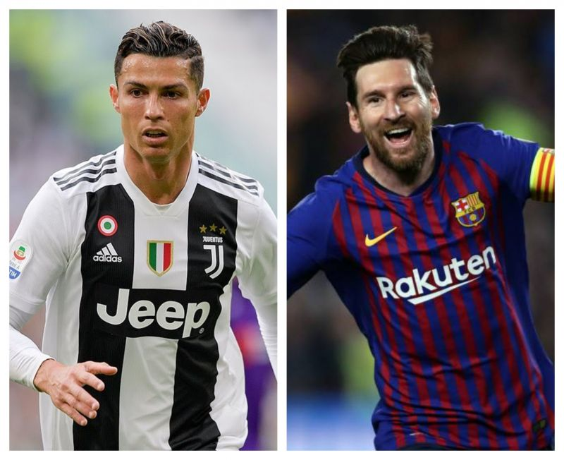 Lionel Messi is hot on the heels of Cristiano Ronaldo