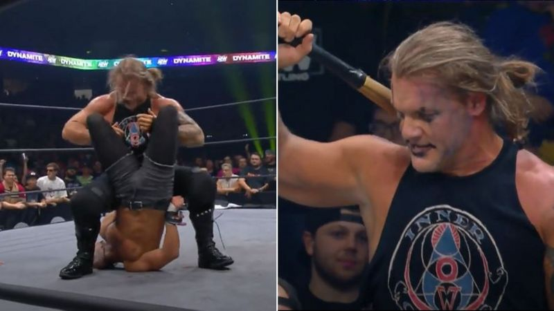 Chris Jericho defended the AEW World Championship in a Street Fight.