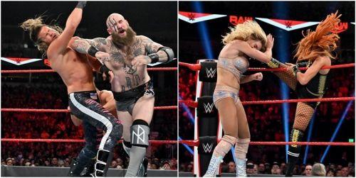 WWE ने शो के दौरान कई चीज़ें इशारों-इशारों में बता दी