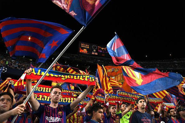 Barcelona have not lost at home in the Champions League since April 2013