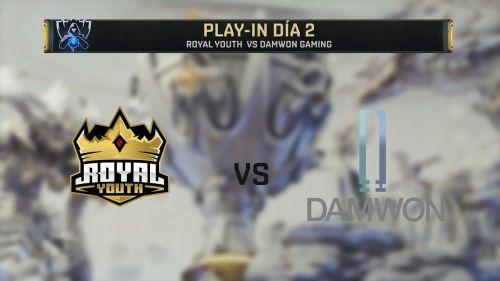 DAMWON defeated Royal Youth