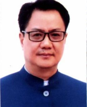 Kiren Rijiju: Honb. Minister of State