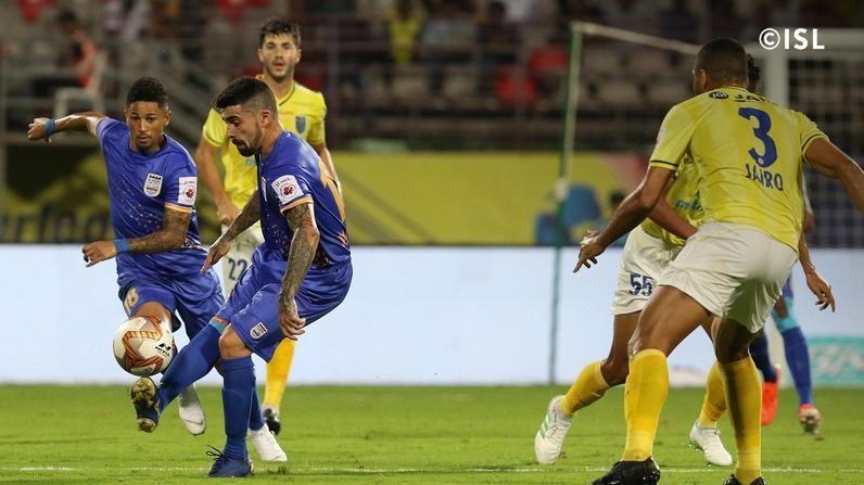 Cidoncha (far left) had no real contribution to the game tonight (Credits: ISL)