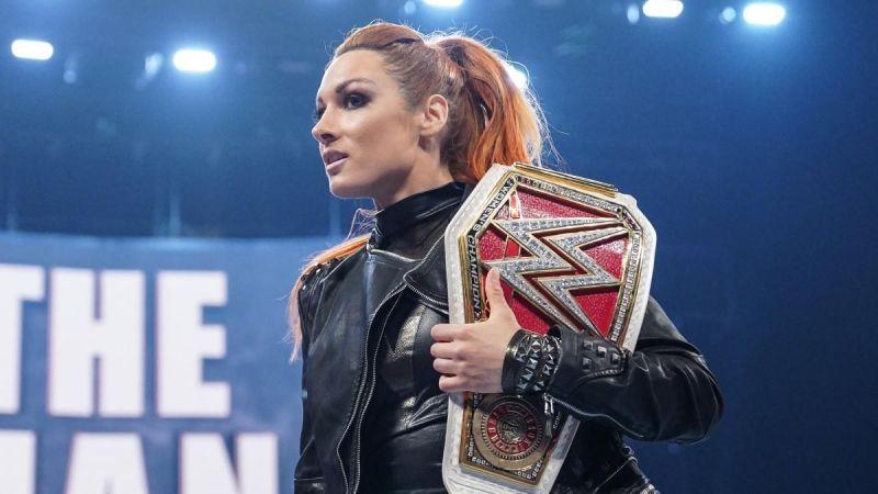 Becky Lynch has been the RAW Women