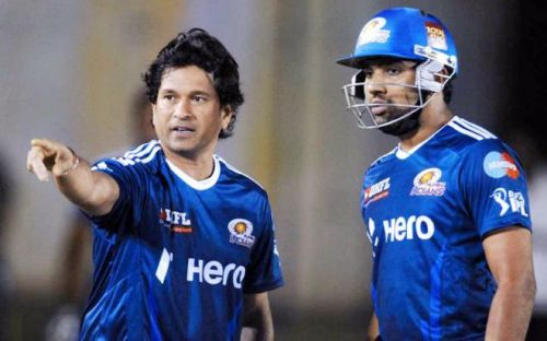 Sachin Tendulkar's last Test series for India was Rohit's first for the country.