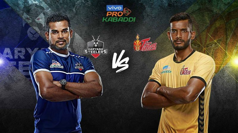 Haryana Steelers look to end their home leg on a positive note versus Telugu Titans.