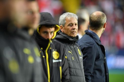 Lucien Favre's team are level on points with Bayern Munich but are currently in fourth place.