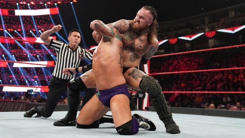 Aleister Black versus Eric Young