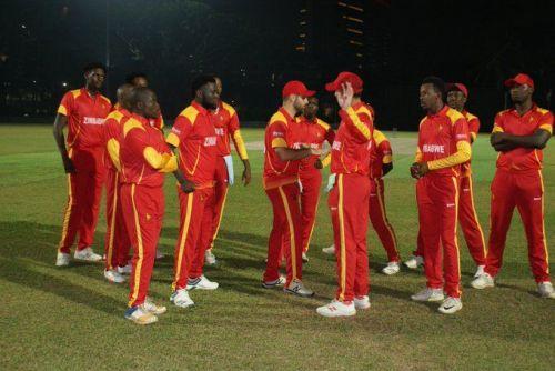 ज़िम्बाब्वे की टीम ने सीरीज पर कब्ज़ा किया (फोटो: Zimbabwe Cricket Twitter)