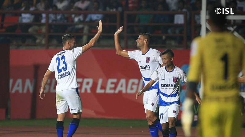 Santana will be looking to continue his goalscoring form (Picture Courtesy: ISL)