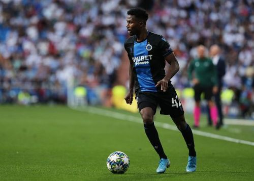 Emmanuel Bonaventure in actions for Club Brugge