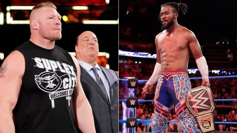 Kofi Kingston vs. Brock Lesnar is scheduled to take place on SmackDown