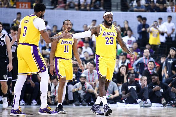 The Los Angeles Lakers are among the Western Conferences best teams heading into the new season