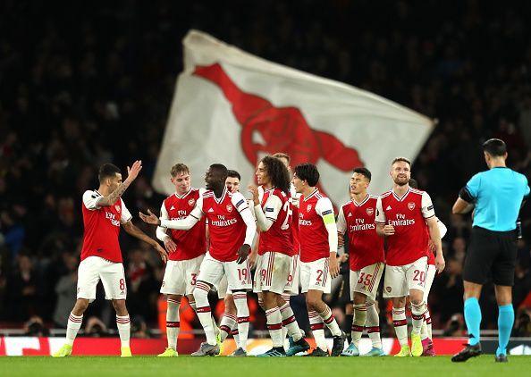 Arsenal FC v Vitoria Guimaraes: Group F - UEFA Europa League