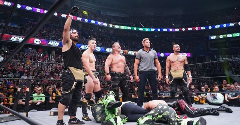 A new Alpha team (pic credit: AEW / Lee South)