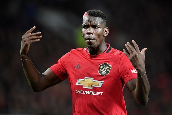 Manchester United will be missing the presence of midfielder Paul Pogba.