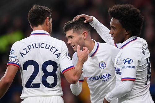 Christian Pulisic's hat-trick propelled Chelsea to yet another comprehensive victory