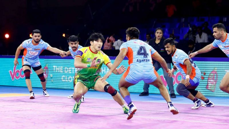 Jang Kun Lee looked like a shadow of his form self in Pro Kabaddi 2019