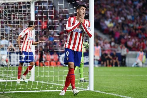 Morata missed a number of notable chances