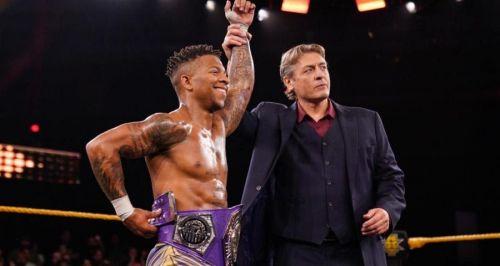 Lio Rush won the NXT Cruiserweight Title this week