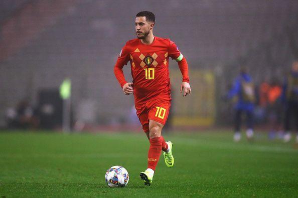 Eden Hazard was impressive for the Belgian team