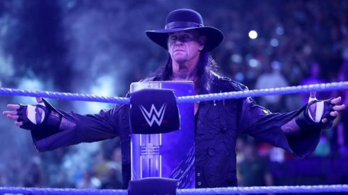 Why wasn't The Undertaker part of SmackDown last night?