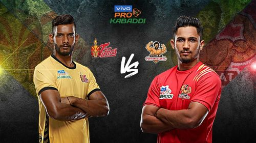 Telugu Titans battle Gujarat Fortune Giants in the battle of pride tonight.
