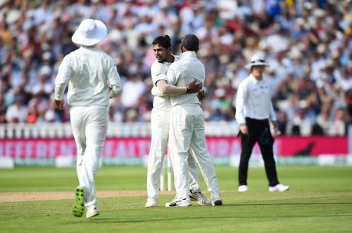 Umesh Yadav played a vital role in India's win