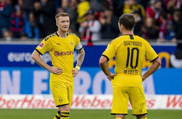Borussia Dortmund fell to another disappointing draw after having taken the lead twice