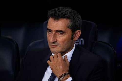 Valverde has masterminded five consecutive victories for Barcelona
