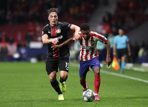 Atletico Madrid Bayer Leverkusen