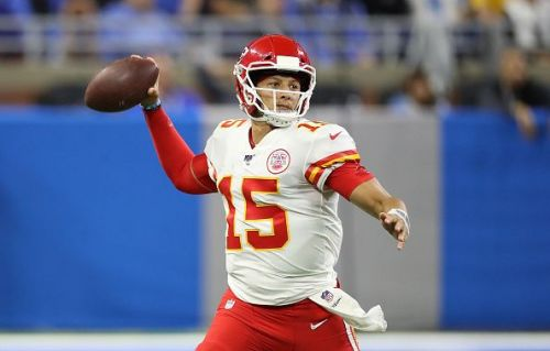 It seems like whoever the Chiefs put in on offense are a threat to go all the way on any given play