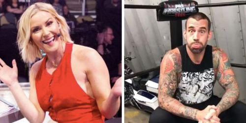 Renee Young and CM Punk