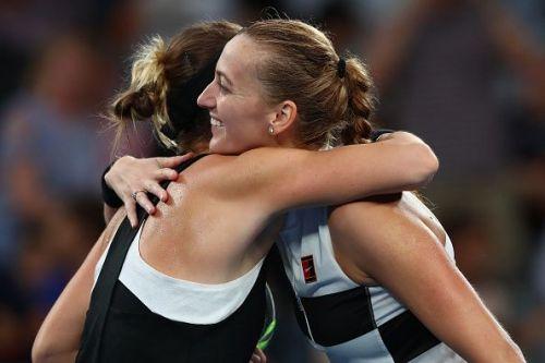 2019 Australian Open - Petra Kvitova Vs Belinda Bencic