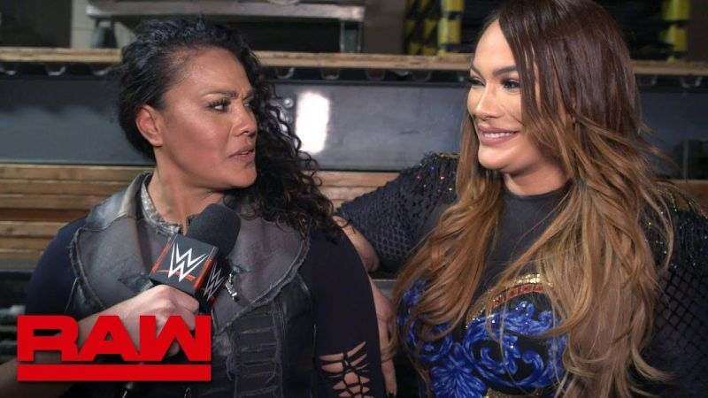 Tamina and Nia Jax