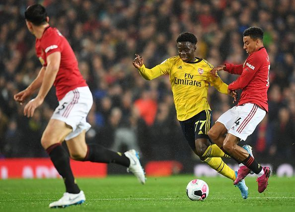 Lingard again flattered to deceive and was fortunate to remain on the pitch after some poorly-timed tackles
