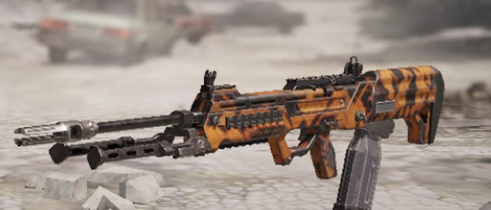 The S36  LMG has a large ammo capacity