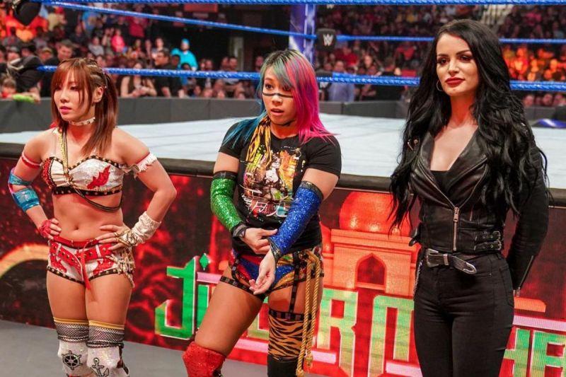 Imagine the damage The Kabuki warriors could do on Raw!
