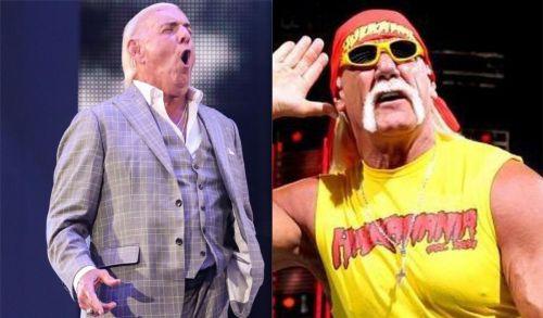 Ric Flair and Hulk Hogan