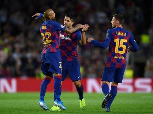 Vidal set Suarez up for the opener