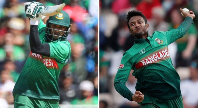 Shakib Al Hasan scored 600+ runs and picked up 10 wickets in the 2019 World Cup.