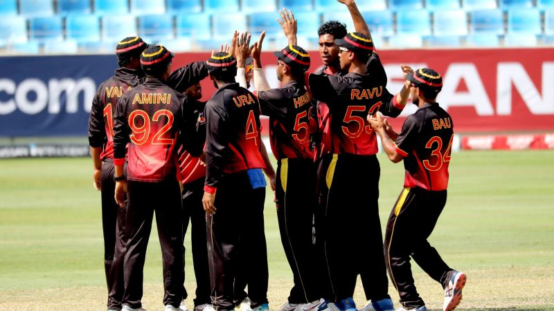 पापुआ न्यू गिनी ने रचा इतिहास (Photo: ICC)