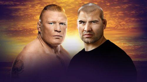 ब्रॉक लैसनर vs केन वैलासकेज (WWE चैंपियनशिप मैच)