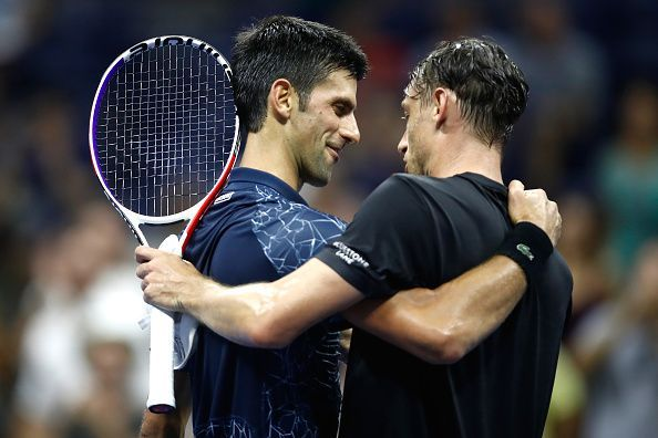 Novak Djokovic was victorious during both their previous head-to-head meetings last year