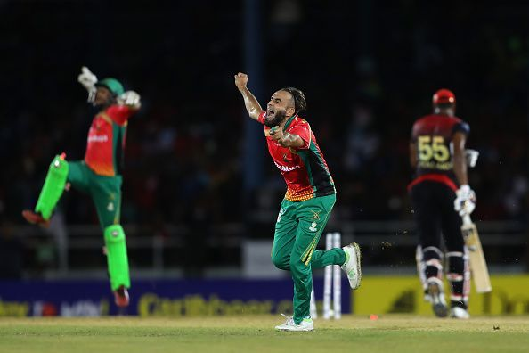 Trinbago Knight Riders v Guyana Amazon Warriors - 2019 Hero Caribbean Premier League (CPL)